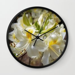 Rhododendron In Spring Wall Clock