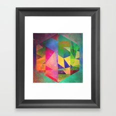 6 hyx Framed Art Print