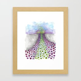 Paths of Color III Framed Art Print