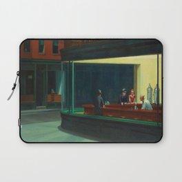 Edward Hopper's Nighthawks Laptop Sleeve