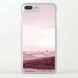 Violet magic Clear iPhone Case