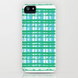 Line Plaid iPhone Case