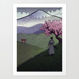 A Gentle Breeze Art Print