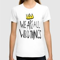 wild things T-shirts featuring Wild Things II by Leah Flores