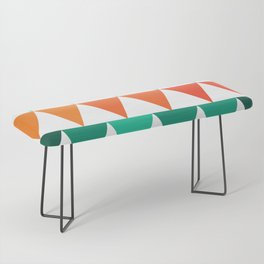 Triangles of Color Bench