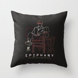 BTS JIN EPIPHANY LINE ART Throw Pillow
