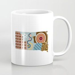 South Dakota State Map Coffee Mug