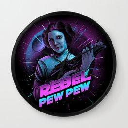 Rebel - Pew Pew Wall Clock