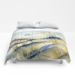 Ocean City Beach Maryland Comforters