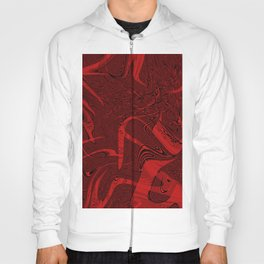 Red abstract marble textures Hoody
