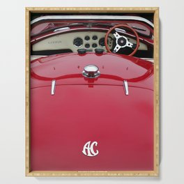 red cobra Serving Tray