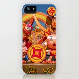 Chinese New Year, Senado Square, Macau iPhone Case