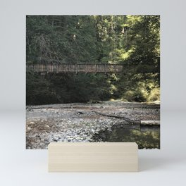 Swinging Bridge Mini Art Print