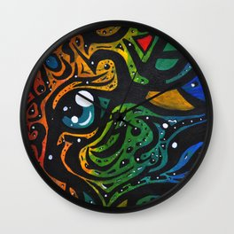 Bird Brained Wall Clock