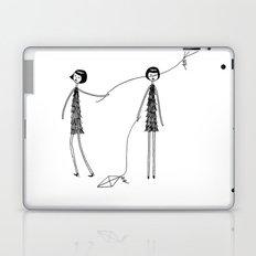 Unlike Eloise, Ramona knew how to fly a kite Laptop & iPad Skin