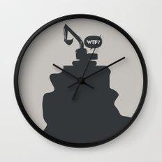 WTF? Grua! Wall Clock