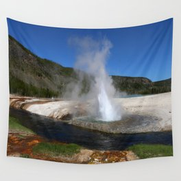 Thermal And Geyser Field Yellowstone NP Wall Tapestry