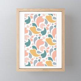 Falling Petals 2 Framed Mini Art Print