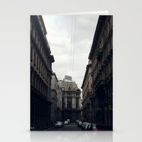 milan Stationery Cards featuring Milan by BMaw