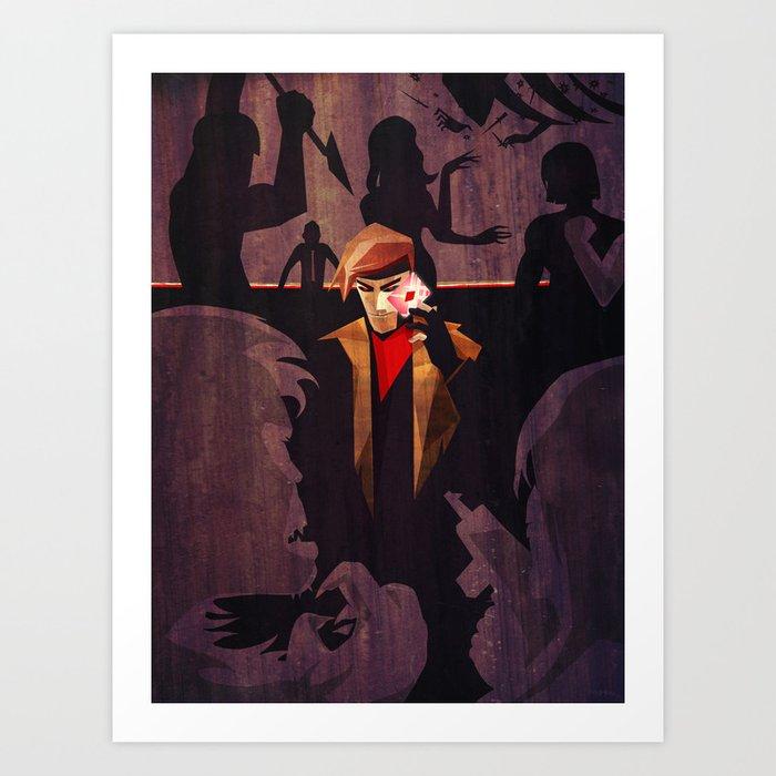 No Fool's Gambit Art Print