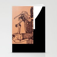motorcycle Stationery Cards featuring Motorcycle by Sky Letson