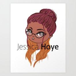 My Autumn Logo Art Print