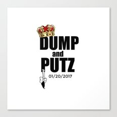 D and P date Canvas Print