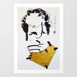 Herman Brood Art Print