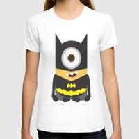 superheros T-shirts featuring Minion - Superheros B by Antonia Elena