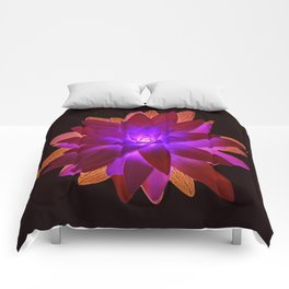 Psychedelic Plant Comforters