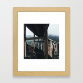 Bixby Bridge, Big Sur, CA Framed Art Print