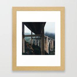 Bixby Bridge, Big Sur, CA Framed Art Print