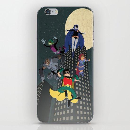 Teen Titans iPhone & iPod Skin