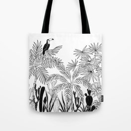 Toucan in the jungle. Tote Bag