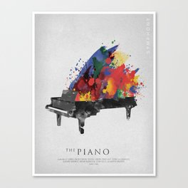 Symphony Series: The Piano Canvas Print