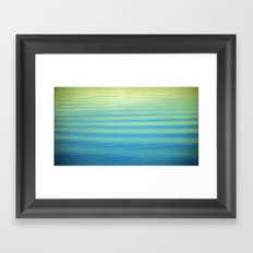 SIMPLY WATER Framed Art Print