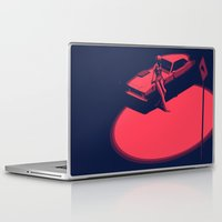 picard Laptop & iPad Skins featuring Peachy by Anton Marrast