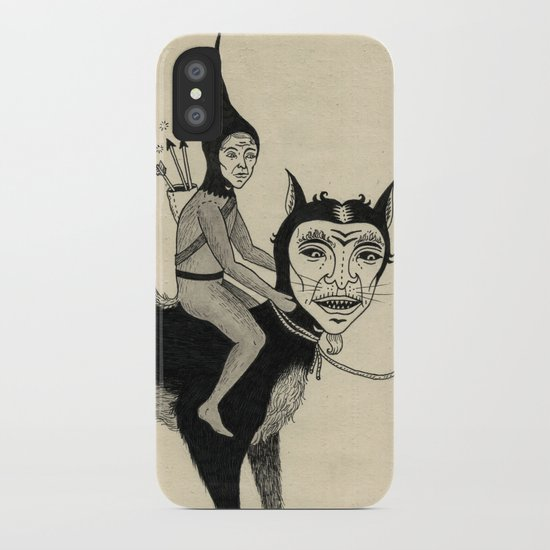 The Capture of the Beast iPhone Case