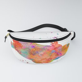 Colorful Platypus Fanny Pack