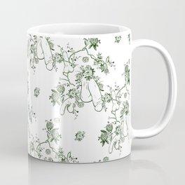 Penis Pattern GREEN Coffee Mug