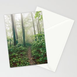 Smoky Mountain Forest Adventure - National Park Nature Photography Stationery Cards