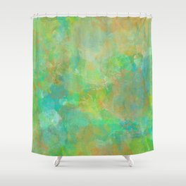 The Beginning of Spring Shower Curtain