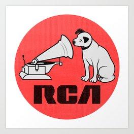 RCA RECORDS Art Print