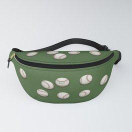 Balls On Green Field Fanny Pack