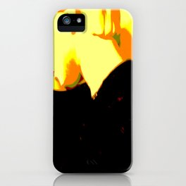 Ghost Of Elvis iPhone Case