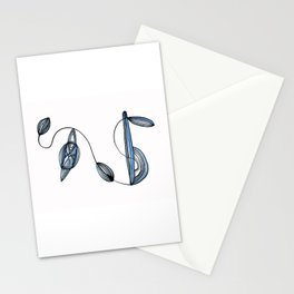 Organic Lines Stationery Cards