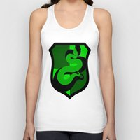 slytherin Tank Tops featuring Slytherin Crest by Electric Unicorn
