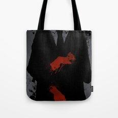 Murder Suit Tote Bag