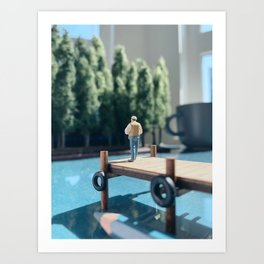 Peaceful Summer Art Print
