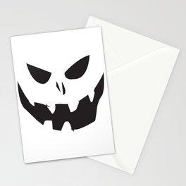 Creepy Jack-o-lantern Stationery Cards